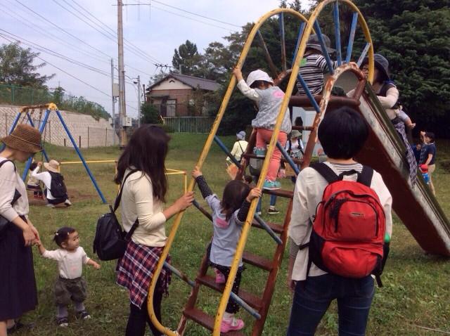 親子で遊ぼう 1歳児クラス