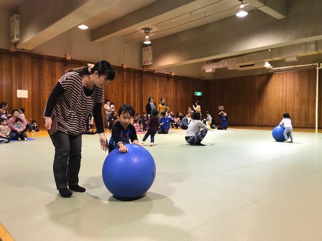 11/28 親子プレスクール2歳児 運動会