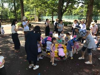 7/10 親子プレスクール2歳児 お弁当会