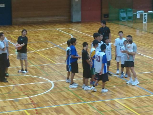 9/9 バスケB.School 練習試合
