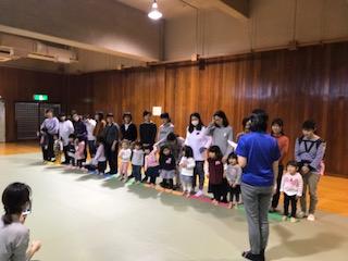 3/5 親子プレスクール2歳児 卒業式