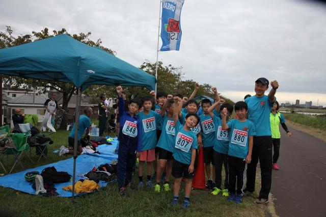 10/20 ランニング教室 リバーサイドマラソンに参加